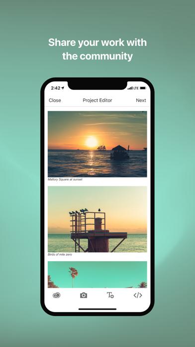 Behance Creative Portfolios review screenshots