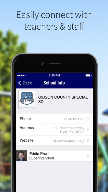 Gibson County Special SD