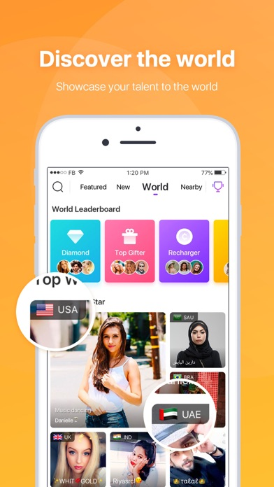 LiveMe – Live Video Chat app image