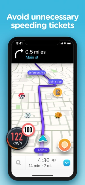 Best Traffic Map App.Waze Navigation Live Traffic On The App Store