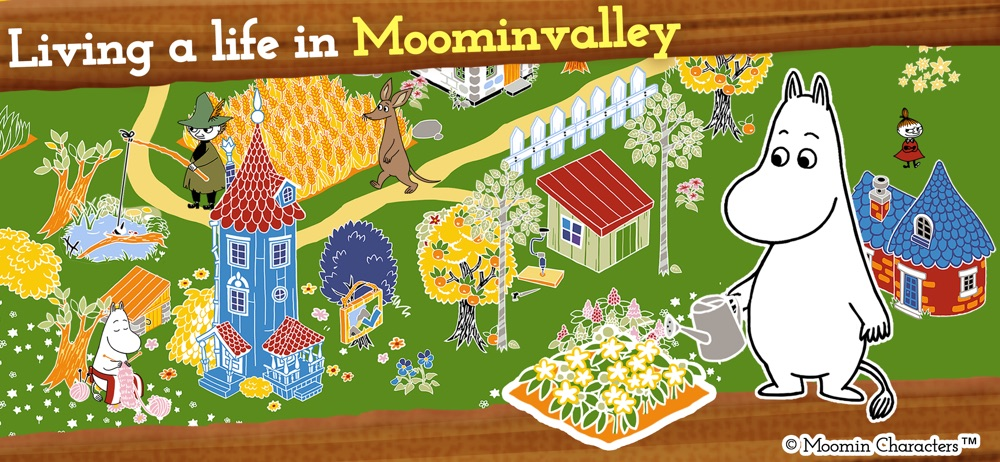 MOOMIN Welcome to Moominvalley hack tool
