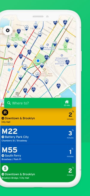 Transit • Bus & Subway Times on the App Store