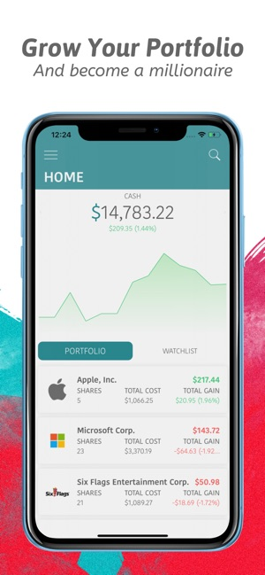 Virtual Stock Market Game on the App Store