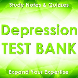 Depression Exam Review App Q&A