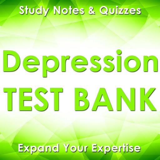 Depression Exam Review App Q&A