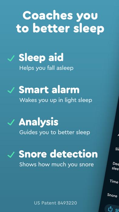 Sleep Cycle review screenshots