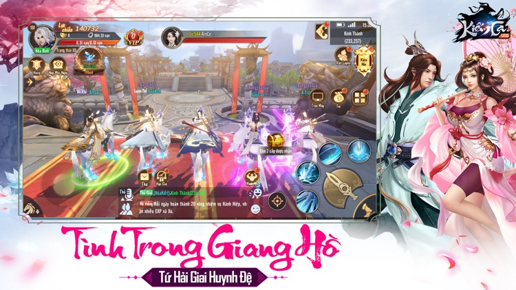 Kiếm Ca - VNG screenshot-6