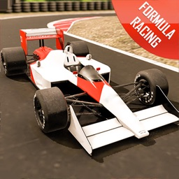 Formula racing car game