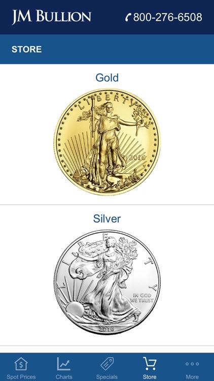 Gold & Silver Spot JM Bullion screenshot-3