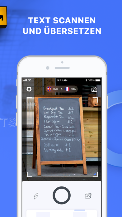Screenshot for Triplens: Bildübersetzer in Switzerland App Store
