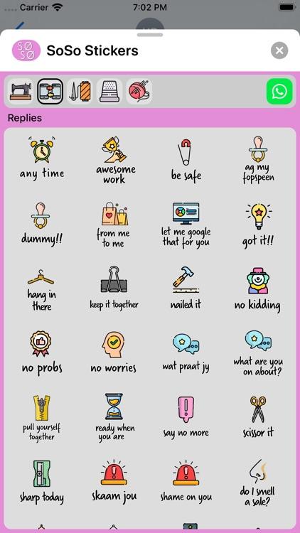 SoSo Stickers