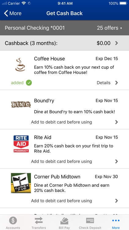Sperry FCU Mobile Banking screenshot-6