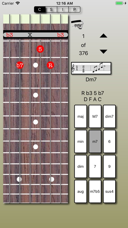 Chord Calculus Lite screenshot-4