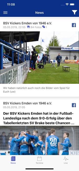 Kickers Emden Dans L App Store