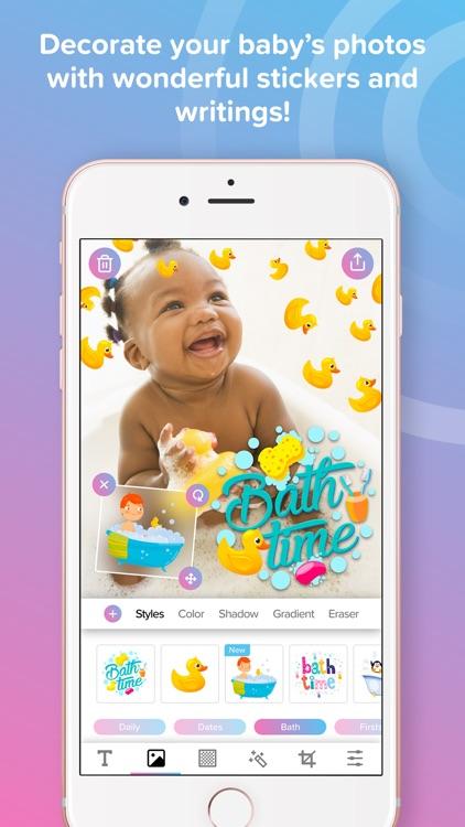 Phonty My Baby - Baby Pics Art screenshot-0