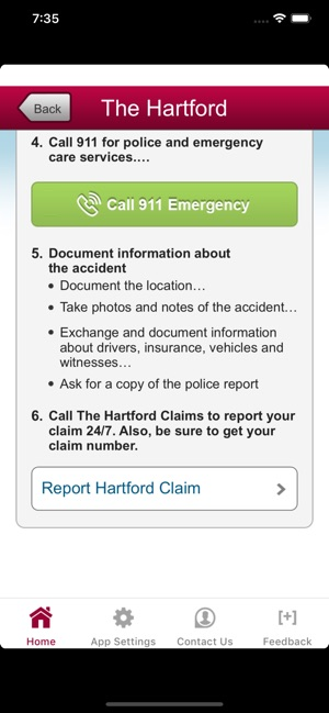 The Hartford Com Myaccount >> Auto Home At The Hartford On The App Store