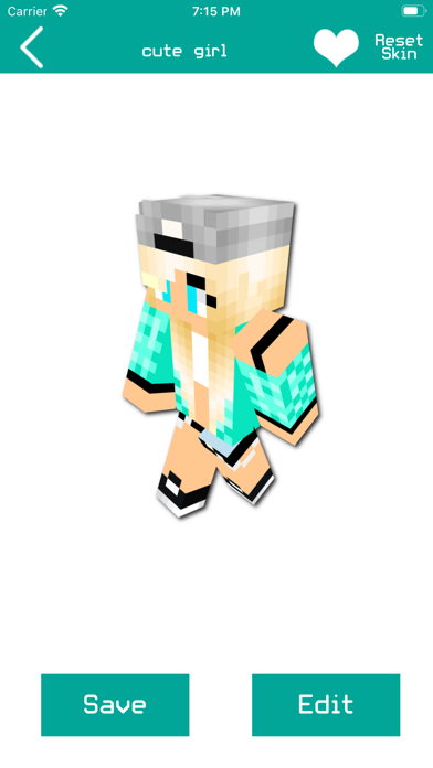 Girl Skins for Minecraft PE !!のおすすめ画像4