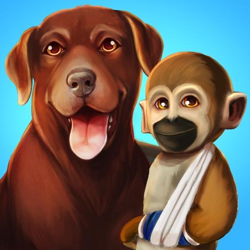 Cute animal care game