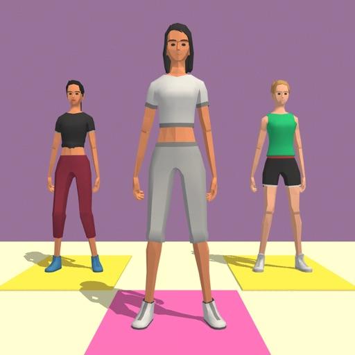 Yoga Instructor 3D icon