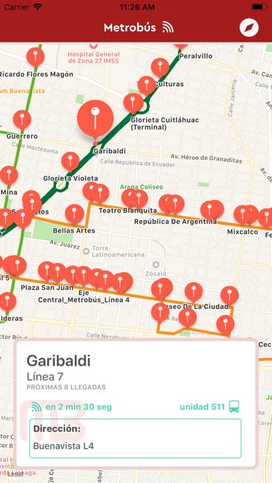 Metrobus CDMXCaptura de pantalla de4