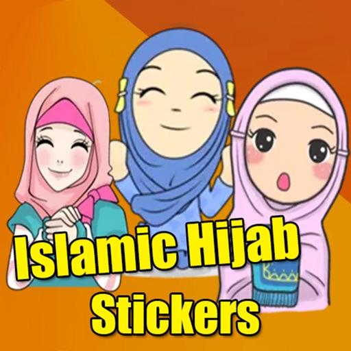 Stickers Hijab Muslimah