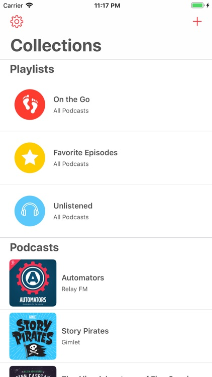 Castamatic Podcast Player