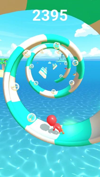 Aqua Dash: EDM Runner !!! screenshot-4