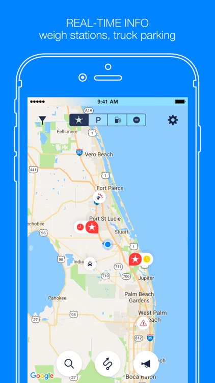 Jack Reports – truckers app screenshot-0