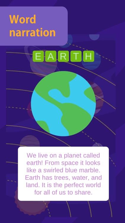 Kids Solar System - planets screenshot-6
