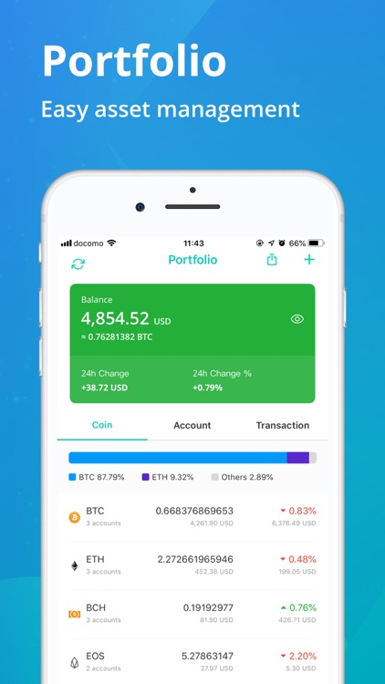 CoinView: Bitcoin Altcoin App screenshot-3