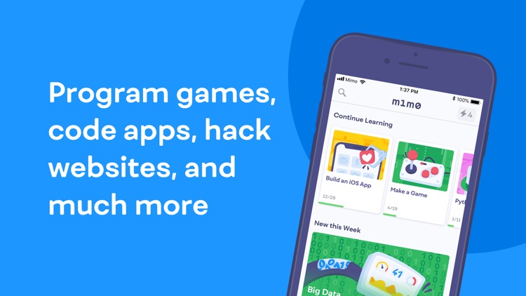 Mimo: Learn to Code & Program