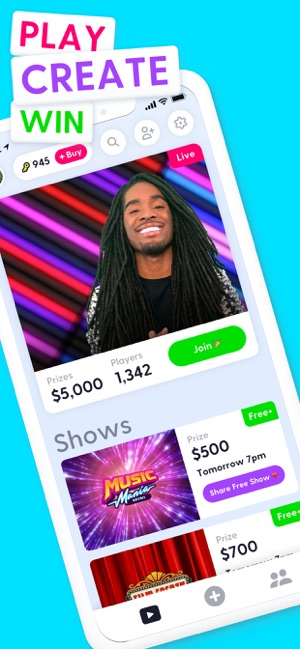 Joyride: play live game shows on the App Store