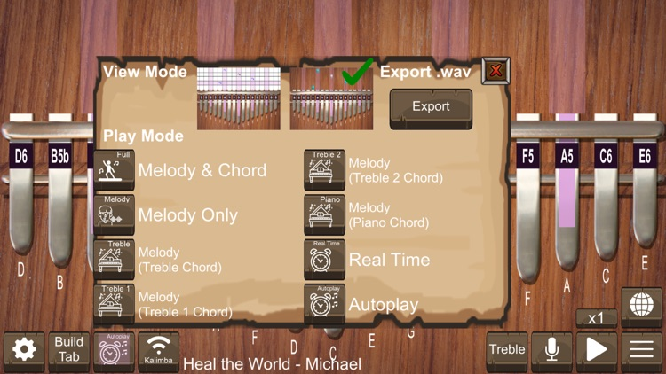 Kalimba Real screenshot-6