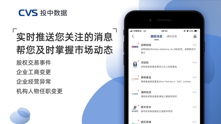 CVS投中数据-融资私募投资募资项目数据库 screenshot-5