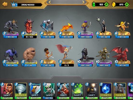 Castle Crush: Strategiespel iPad app afbeelding 6
