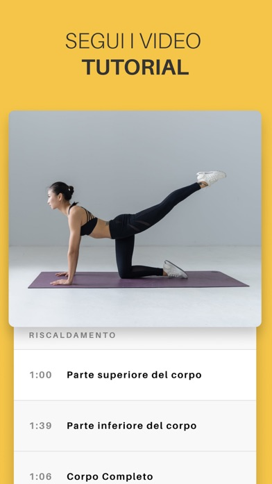 Screenshot for Yoga-Go: Dimagrire velocemente in Italy App Store