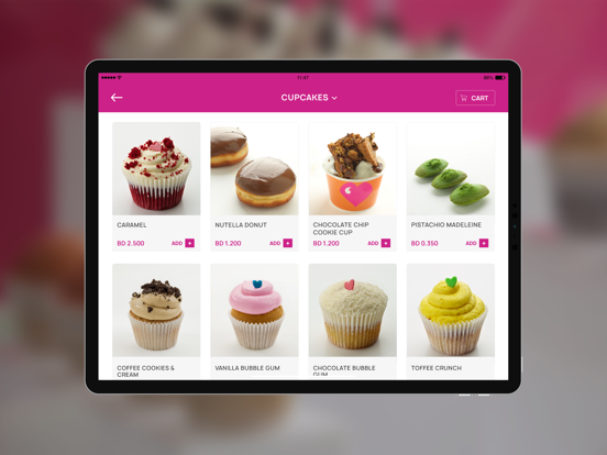 Haute Cupcakes Bahrain screenshot 6