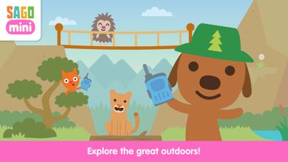 Sago Mini Camping screenshot 1