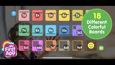 Multiplication table- Full ver screenshot 2