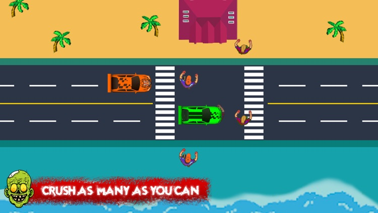 Zombie Crash Road screenshot-3