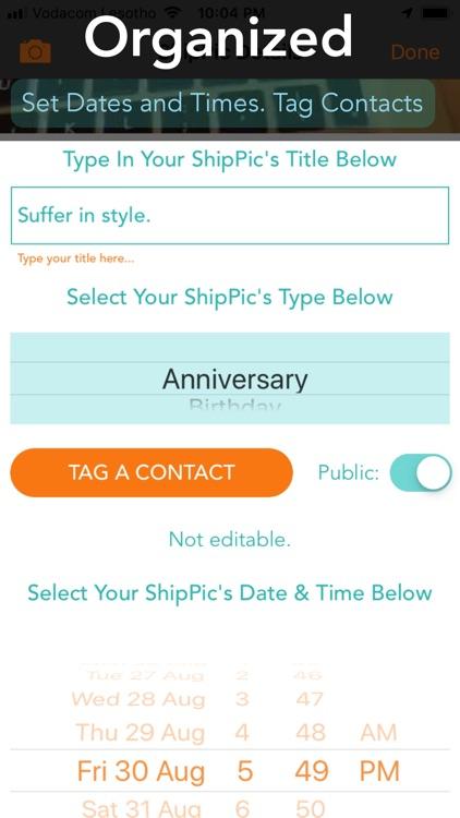 PicShip - Organized Millennial screenshot-3
