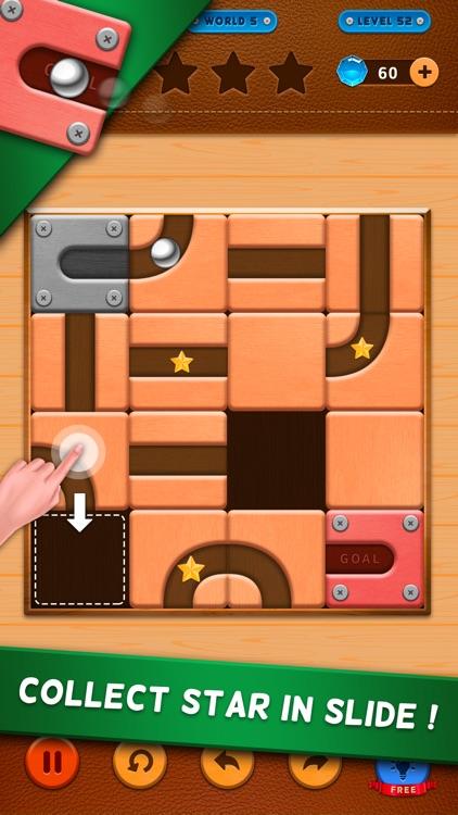 Unroll Ball - Roller ball screenshot-3