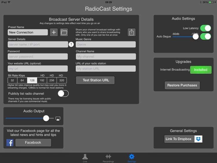 RadioCast screenshot-3