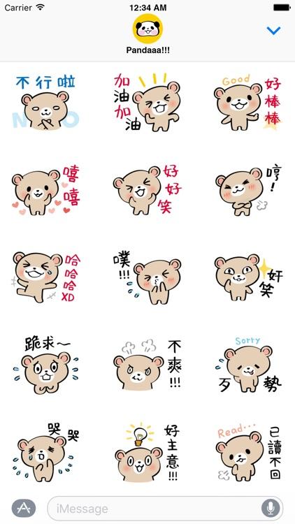 Pretty Teddy Bear Stickers screenshot-3