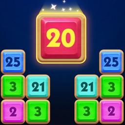 Drag It Merge: Number Block 3D