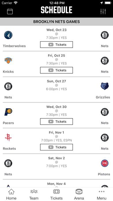 Brooklyn Nets screenshot two