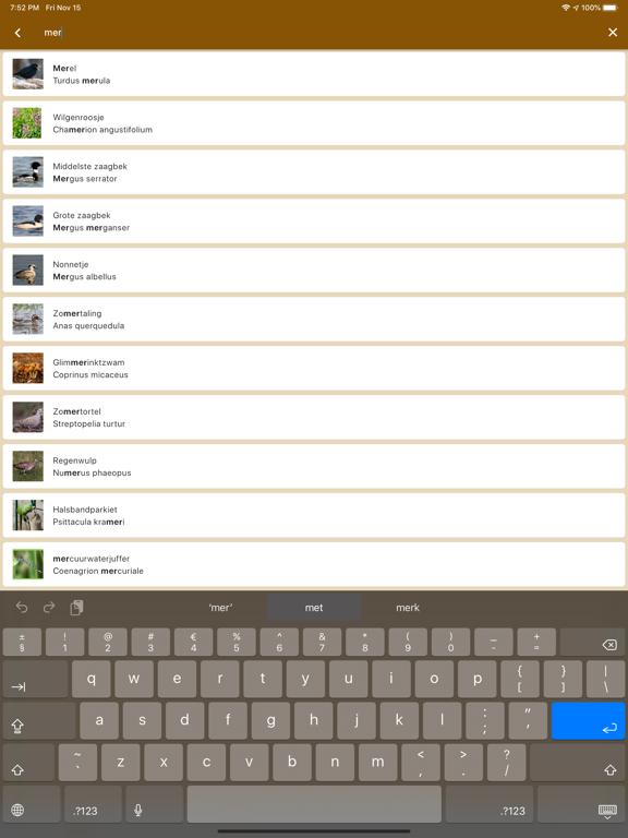Veldgids screenshot 10