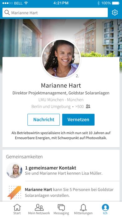 Screenshot for LinkedIn in Germany App Store