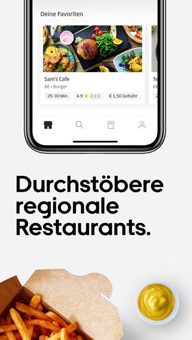 Screenshot for Uber Eats: Essenslieferung in Germany App Store