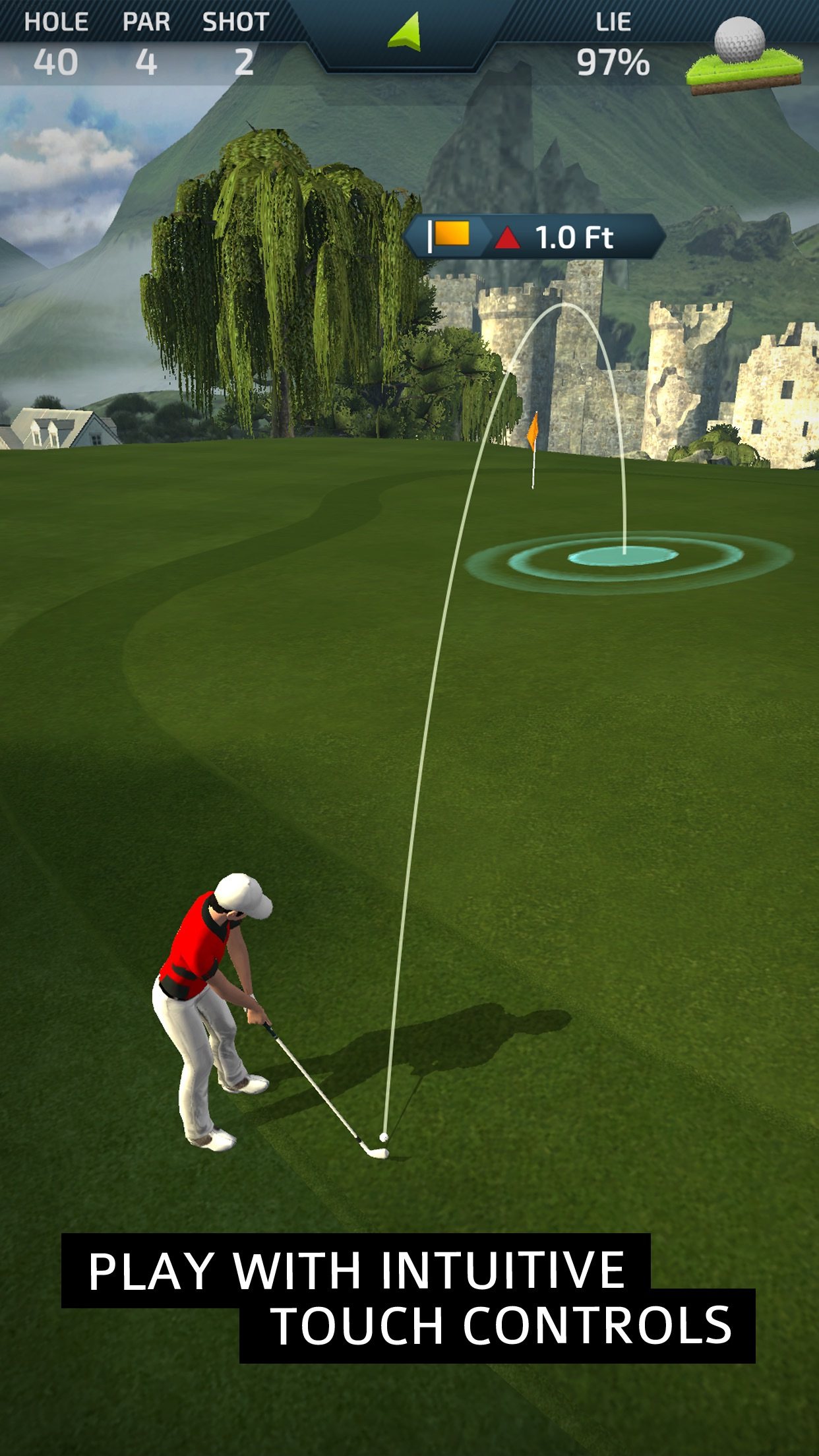 Pro Feel Golf Screenshot